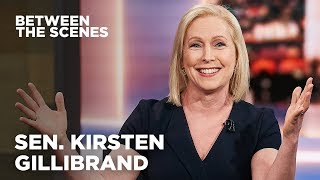 Between the Scenes - Guest Edition: Kirsten Gillibrand | The Daily Show