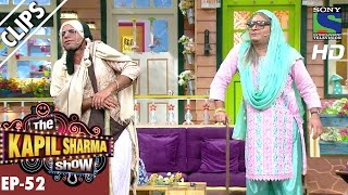 Quarrel between Rajesh's mother and Mashoor's mother -The Kapil Sharma Show-Ep.52-16th Oct 2016