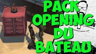 PACK OPENING DU BATEAU ET AIRE DE REPOS LAST DAY ON EARTH