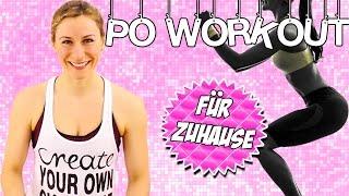 Po Workout für zuhause MEGA Intensiv   Po Workout in nur 8 Minuten   VERONICA-GERRITZEN.DE