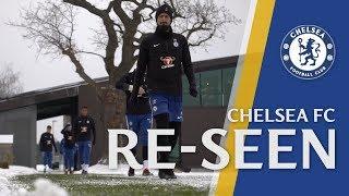 Cesar Azpilicueta Takes A Snowball To The Face From Eden Hazard | Chelsea Reseen