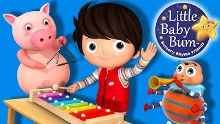 Funny Noises And Sounds Song | Nursery Rhymes | Original Songs By LittleBabyBum!