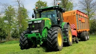 Special: Grass silage with John Deere 7230R With VMR Combi 2200 by Vicon **FULL HD