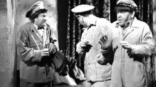 The Three Stooges - The Ghost Talks - Fright Scenes