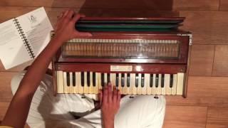 Harmonium Lesson: Jaya Shiva Shankara Bhum Bhum Hara Hara
