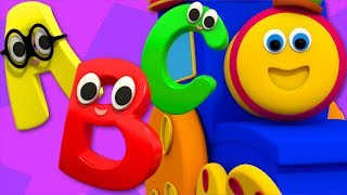 ABC Song   Learning Street With Bob The Train   Sight Word    Kindergarten Nursery Rhymes by Kids Tv