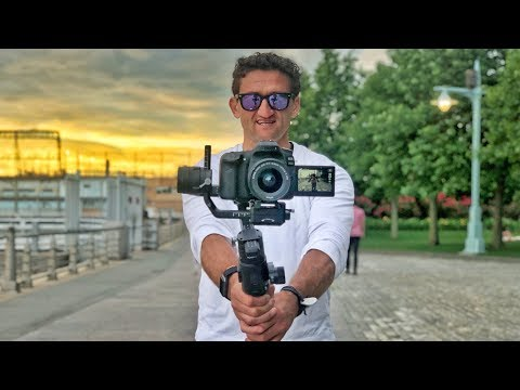 DJi Ronin S a first look at this dope gimbal