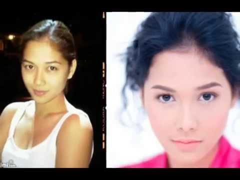 Filipina Celebrities Without Make-up