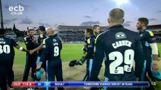 Vikings go huge against the Jets - NatWest T20 Blast Highlights