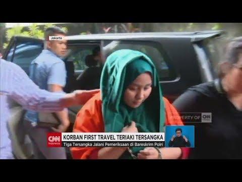 Korban First Travel Teriaki Tersangka Andika Surachman Anniesa Hasibuan & Kiki Hasibuan