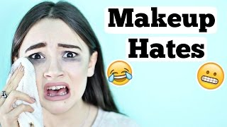 10 Things Girls HATE About MAKEUP | Fiona Frills | Fun with Fiona