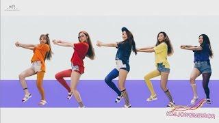 Red Velvet - Dumb Dumb Dance Compilation [Mirrored]