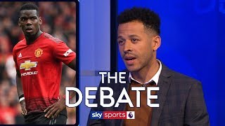 'Paul Pogba makes Man United players worse!' | Rosenior, Hayes & Dublin | The Debate
