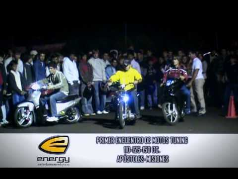 encuentro de motos tuning 110 125 150cc.Apostoles Misiones by energy
