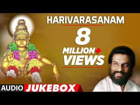 K.J Yesudas Ayyappa Song || Harivarasanam || Ayyappa Swamy Songs || Kannada Devotional Songs