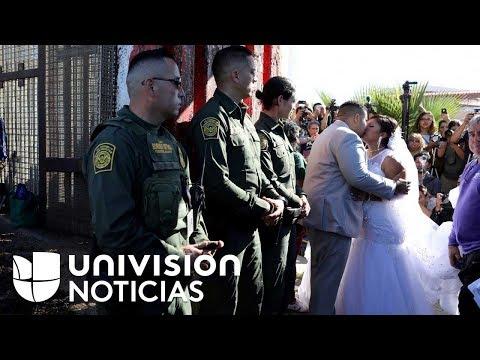 Xxx Mp4 El Reencuentro De 12 Familias En La Frontera De EEUU Y México Con Matrimonio Incluido 3gp Sex