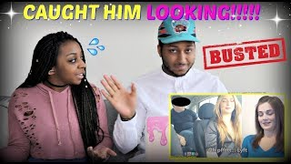 BF Caught Cheating w/Uber Driver on Hidden Camera (GF Watches) REACTION!!!