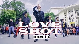 "[KPOP IN PUBLIC CHALLENGE] EXO 엑소 - ""Love Shot"" (러브샷) Dance Cover By M.S Crew from Vietnam"