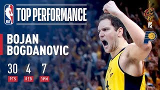 Bojan Bogdanovic Leads The Pacers To A Game 3 Victory!