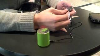 Muse Mini Bluetooth Wireless Portable Speaker - musemini.com