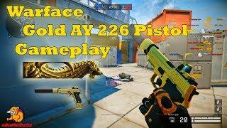 Warface - Gold AY 226 Pistol Gameplay (TR Server)