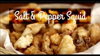 Salt and Pepper Squid Recipe 🦑 How to Make Salt and Pepper Squid