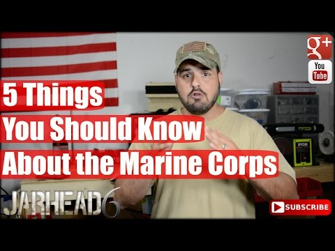 watch 5 Things You Should Know About the Marine Corps