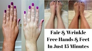 Home Remedy To Get Fair, Softer & Wrinkle Free Hands & Feet In Just 15 Minutes
