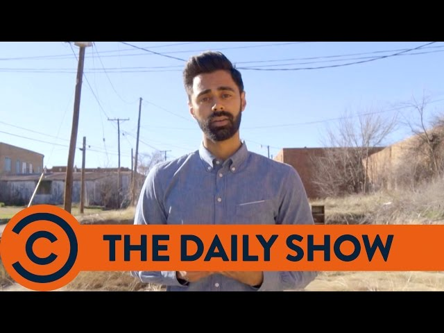 Don't Drink The Water Down in Texas - The Daily Show | Comedy Central