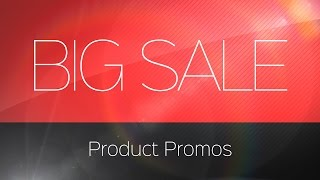 Big Sale Product Promos – After Effects Template