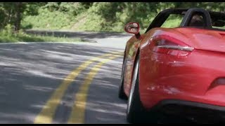 Driving the Tail of the Dragon in the New Porsche Boxster