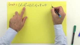 2. Dereceden denkleme dönüştürme 1 - Şenol Hoca