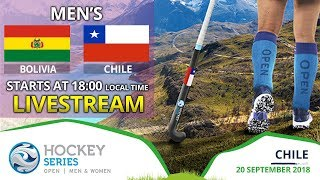 Bolivia v Chile | 2018 Men's Hockey Series Open | FULL MATCH LIVESTREAM