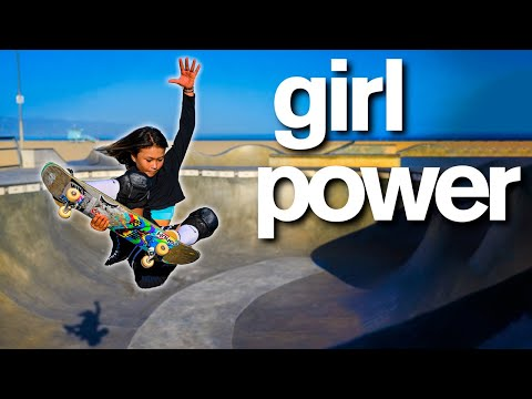 Skateboarder is World s Youngest Olympian Sky Brown