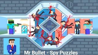 Monster School : Mr Bullet - Spy Puzzles Challenge - Minecraft Animation