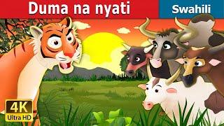 Duma na nyati | Hadithi za Kiswahili | Katuni za Kiswahili | Hadithi za Watoto | Swahili Fairy Tales