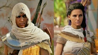 Assassin's Creed Origins Aya (Bayek