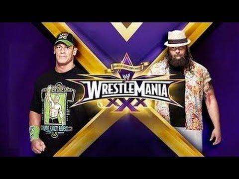 Xxx Mp4 WWE Wrestlemania 30 John Cena Vs Bray Wyatt HD Wrestlemania XXX 3gp Sex