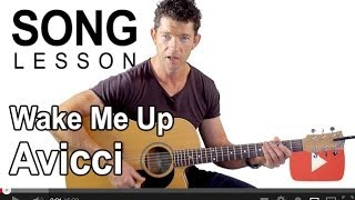 How to Play Wake Me Up by Avicii on Guitar with Mark Mckenzie