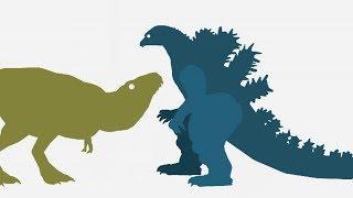 Dinossauros desenho animado   FNAF Dragon Godzilla & Funny Dinosaurs Cartoons - DinoMania