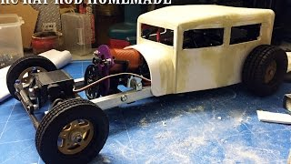 RC CAR - RAT ROD RWD HOMEMADE 1/10 [PART 1/5] CHASSIS