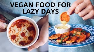 LAZY VEGAN RECIPES (PIZZA IN A MUG)