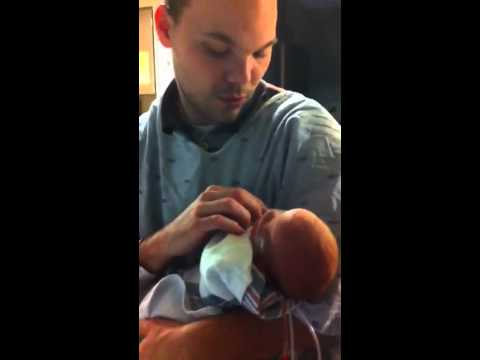 Daddy Holds Tobey