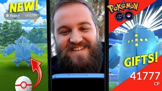 Making Friends, Opening Gifts & Taking Down 3 Regice - Epic Results! (Pokemon Go)
