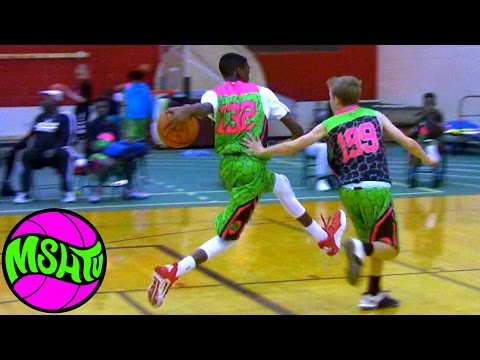 8th Grader Joe Bamisile is a FUTURE STAR - MSHTV Camp - Class of 2020 Prospect #GuardMonth