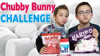 CHUBBY BUNNY CHALLENGE & FLUFF
