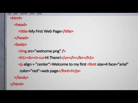 HTML Tutorial: What Is HTML?