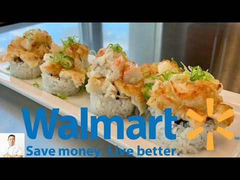Walmart Sushi Challenge Making Gourmet Sushi On A Budget