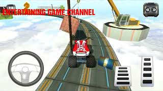 Impossible Monster Stunts Game | Android Gameplay - Free Games Download - Racing Game  | CAR RACING
