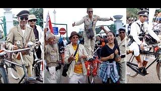Komunitas Sepeda Tua Indonesia Kumpul di Monas, Jakarta
